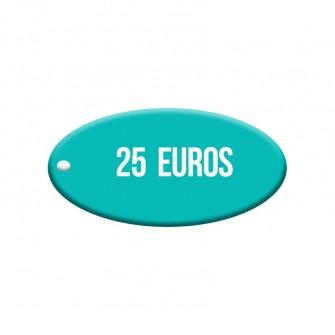 Bono 25 euros