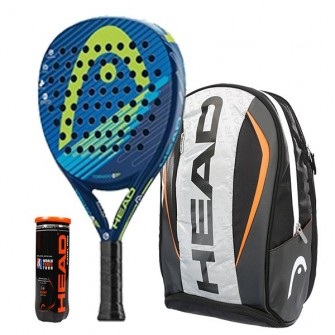 Pack Head Graphene Tornado N2 + Mochila Head Tour Team
