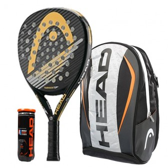 Pack Head Graphene Tornado E+ + Mochila Head Tour Team