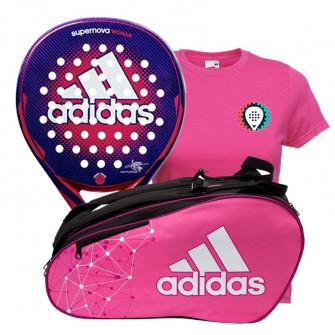 Pack Adidas Supernova Woman + Paletero Control Woman
