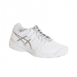 Zapatillas de padel Asics Gel Resolution7 Clay Blanco