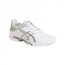 Zapatillas de padel Asics Gel Solution Speed 3 Clay Blanco