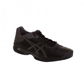 Zapatillas de padel Asics Gel Solution Speed 3 Clay Negro