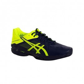 Zapatillas de padel Asics Gel Solution Speed 3 Clay Marino Amarillo