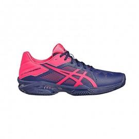 Zapatillas de padel Asics Gel Solution Speed 3 Clay Marino Rosa