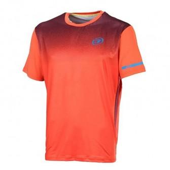 Camiseta de padel Bullpadel Belagio Naranja
