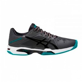 Asics Gel Solution Speed 3 Clay Gris/negro