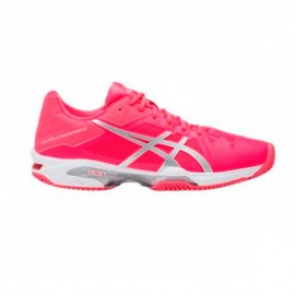Asics Gel Solution Speed 3 Clay Rosa/Plata