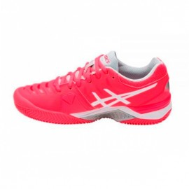Asics Gel Challenger 11 Clay Fucsia Blanco