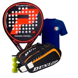 Pack Power Padel F6 + Paletero Dunlop Play