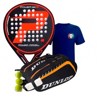 Pack Power Padel F6 + Mochila Drop Shot Premier JMD