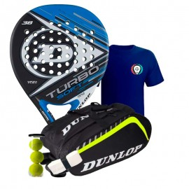 Pack Dunlop Turbo Soft 2017 + Paletero Dunlop Play