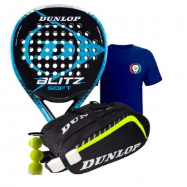 Pack Dunlop Blitz Soft 2017 + Paletero Dunlop Play