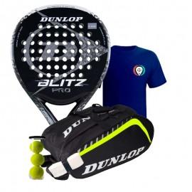 Pack Dunlop Blitz Pro 2017 + Paletero Dunlop Play