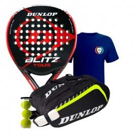 Pack Dunlop Blitz Tour 2017 + Paletero Dunlop Play