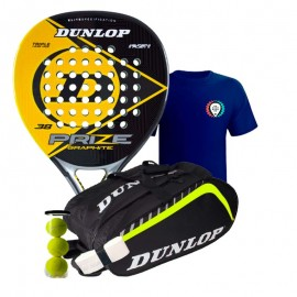Pack Dunlop Prize Graphite 2017 + Paletero Dunlop Play