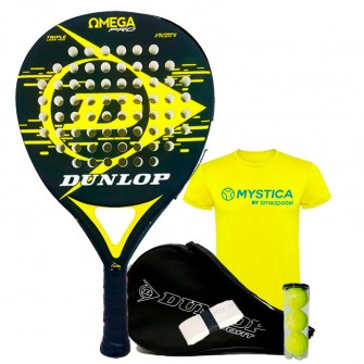 Dunlop Omega Amarilla | Palas padel Dunlop