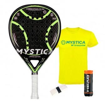 Mystica Carbon Attack LTD PRO   Palas padel Mystica