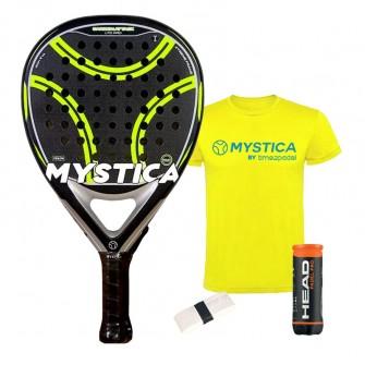 Mystica Carbon Attack LTD PRO 2021   Palas padel Mystica