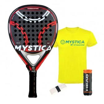 Mystica Carbon Attack 2021 | Palas padel Mystica