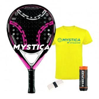 Mystica Apocalypse CTRL 2021 rosa | Palas padel Mystica