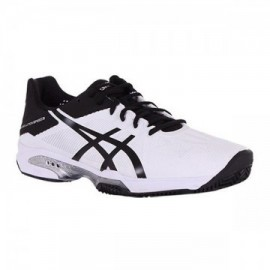 Zapatillas de pádel Asics Gel Solution Speed 3 Clay Blanco