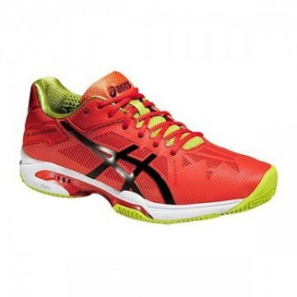 Zapatillas de pádel Asics Gel Solution Speed 3 Clay Naranja