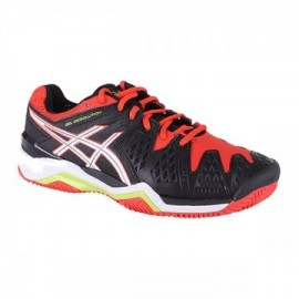Zapatillas de pádel Asics Gel Resolution 6 Clay Negro